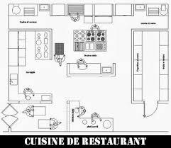 plan de cuisines plan cuisine professionnelle dwg cuisine interieure