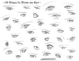 38 ways to draw an eye by watermelonowl on deviantart