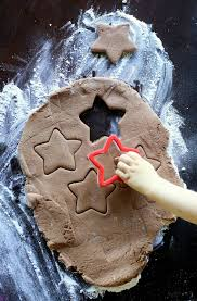 chocolate salt dough recipe for ornaments