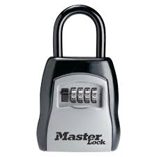 master lock 3 1 4 in set your own combination portable lock box