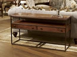 Metal And Wood Furniture Fine Furniture Design Rectangular Metal Wood Console Table