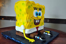 spongebob birthday cake spongebob squarepants birthday cake a photo on flickriver
