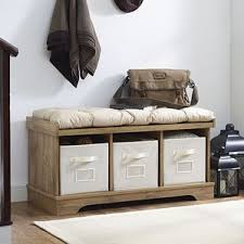 Bench With Cushion Storage Benches