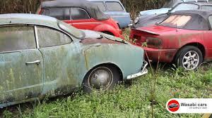 karmann ghia green junkyard vw karmann ghia beetles type 3 wagons and more youtube