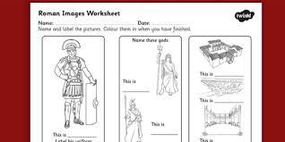 roman images labelling worksheet ancient rome roman