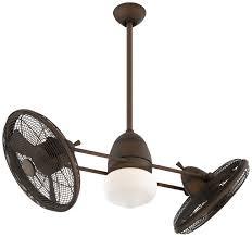 dual fan ceiling fan ceiling fan design spotlight casablanca series adjustable dual fan