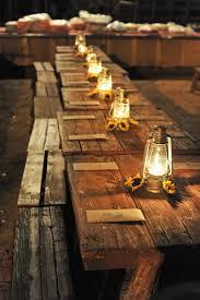 rustic outdoor picnic tables picnic table settings for barn wedding barn wedding pinterest