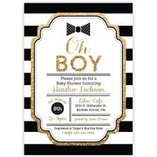 bow tie baby shower invitations oh boy baby shower invitation bowtie invitaiton boy baby