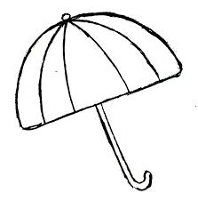 large umbrella coloring