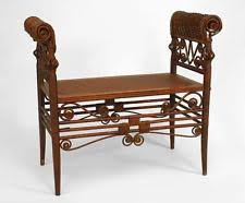 Turkish Bench Wicker Antique Benches U0026 Stools Ebay