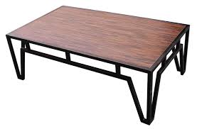 steel and wood coffee table coffee tables thippo