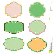 blank label template blank vintage and retro label design stock vector image 61122815