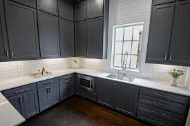 blue gray for kitchen cabinets blue gray pantry cabinets transitional kitchen