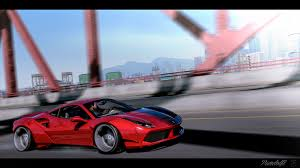 ferrari 488 custom 2016 ferrari 488 gtb liberty walk gta5 mods com