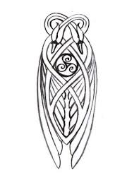 tattoos celtic designs knotwork swan detail for celtic harp art design and typography