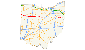 Road Map Of Ohio by U S Route 30 In Ohio Wikipedia