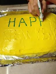 Decoration Happy New Year Happy New Year Cake