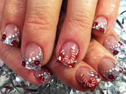 easy xmas nail art fun holiday tutorial diy christmas nails