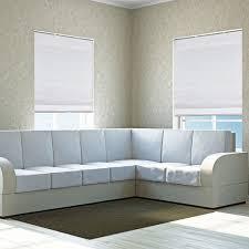 cordless fabric roman shades light filtering gray width from 22