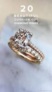 cushion engagement rings 20 beautiful cushion cut engagement rings ruffled