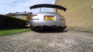 nissan 350z y pipe uk 350z isr performance single exit exhaust system youtube