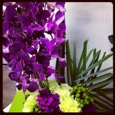 Flowers Irvine California - gorgeous arrangement of purple orchids yelp