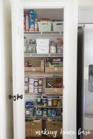 six steps pantry organization with free printable labels organized pantry with labels