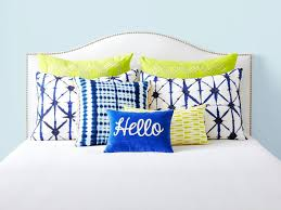 bed pillow ideas 6 bedroom pillow arranging tricks to try hgtv