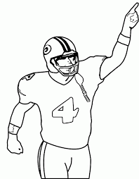 nfl coloring sheets coloring