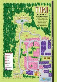 Camp Dearborn Map Great Places Koa Map Michigan Koa Campgrounds Koa Michigan