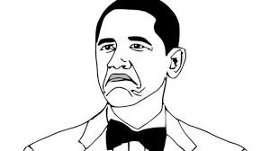 Frowning Meme - obama rage face not bad know your meme