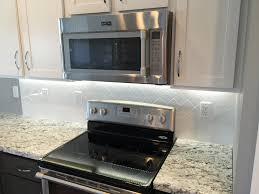 Kitchen Backsplash In A X White Subway Tile In A Vertical - Vertical subway tile backsplash