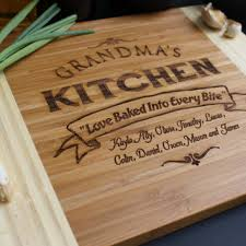personalized engraved cutting board best bamboo engravable cutting boards products on wanelo