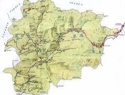 Physical Map Of South Africa by Physical Map Of Andorra Full Size