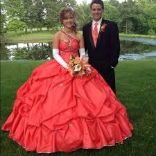 33 off dresses u0026 skirts peach colored prom dress from ashley u0027s