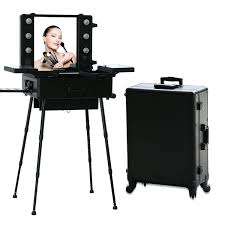 professional makeup stand brilliant design stylish appearance high quality aluminum finished