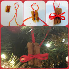 homemade cinnamon stick tree decorations tree decorations and
