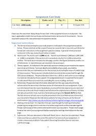 Case Study Essay Format Case Study Assignment Help Australia