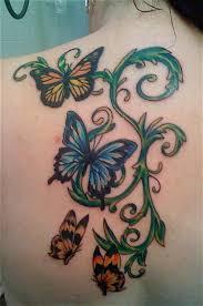 butterfly butterflytattoo designs butterfly vine