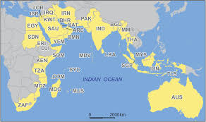 World Map Of India by World U0027s Geopolitical Center Of Gravity Shifts To Indian Ocean