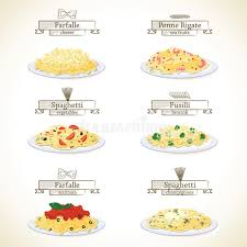 cuisine types pasta dishes stock vector illustration of cheese cuisine 50303134