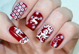 born pretty store review christmas stamping nail art tutorial