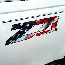 Us Flag Decal Custom Vinyl Lettering Summerville Signs And Banners Truck