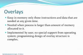 operating system concepts u2013 8 th edition memory management