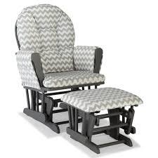 ottomans shermag glider rocker combo nursery glider cushions