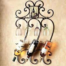 wine rack decorative wrought iron wall wine racks engraved
