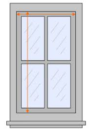 Blinds Outside Of Window Frame Measuring For Blinds Window Blinds Measurements