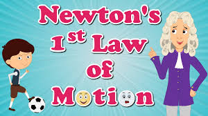 newton u0027s first law of motion youtube