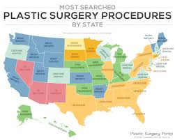 Long Island New York Map by What U0027s The Most Popular Plastic Surgery Procedure In Ny