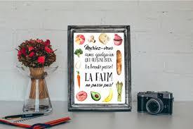 affiche deco cuisine affiche a4 déco cuisine mariez vous avec quelqu un qui